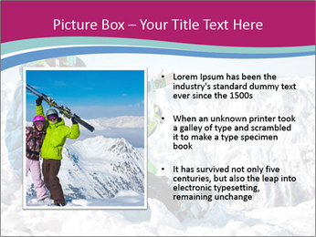 Holidays At Ski Resort PowerPoint Template - Slide 13