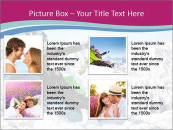 Holidays At Ski Resort PowerPoint Template - Slide 14