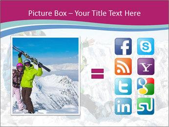 Holidays At Ski Resort PowerPoint Template - Slide 21