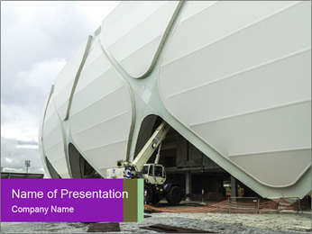 Worldcup In Brazil PowerPoint Template - Slide 1