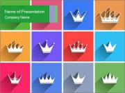 Crown Collage PowerPoint Template