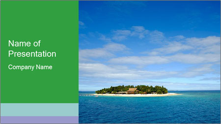Isolated Island PowerPoint Template