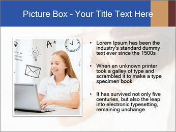 Woman Chatting In Bed PowerPoint Template - Slide 13