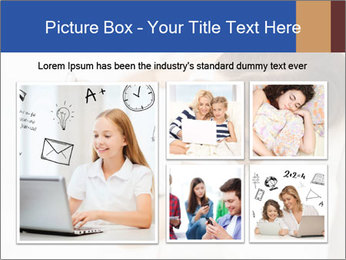 Woman Chatting In Bed PowerPoint Template - Slide 19