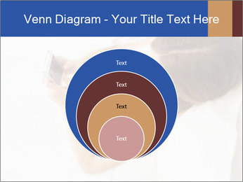Woman Chatting In Bed PowerPoint Template - Slide 34