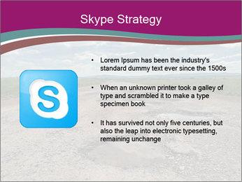 Holes On Asphalt Road PowerPoint Template - Slide 8