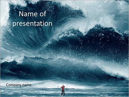 Huge beautiful waves on the beach storm powerpoint template huge beautiful waves on the beach storm powerpoint templates toneelgroepblik Choice Image