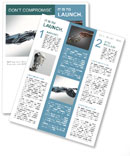 Technologies of the future prosthesis hand Newsletter Template