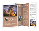 Large pipes Brochure Templates