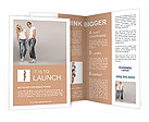 Happy young people Brochure Templates