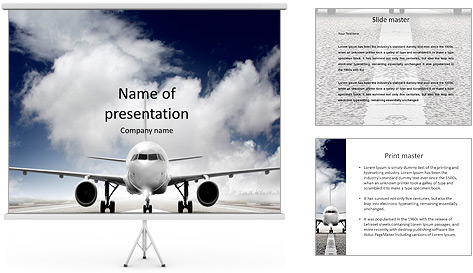Magnificent aviation powerpoint templates images example resume powerpoint template free airplane gallery powerpoint template and toneelgroepblik Choice Image