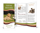 Friendship cats and dogs Brochure Templates