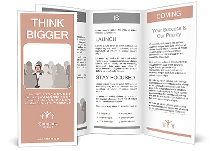 leader concept brochure template