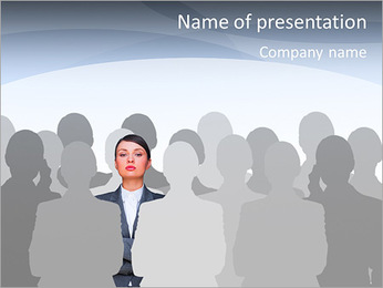 Leader concept PowerPoint Template