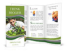 Young male gardener working in greenhouse Brochure Templates
