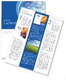 Field of spring grass and forest Newsletter Template