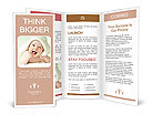 Laughing baby Brochure Templates