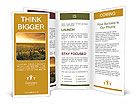 A Beautiful Sunset over a Barossa Vineyard Brochure Templates