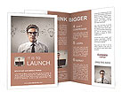 Young businessman has an idea Brochure Templates