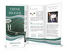 Man whit idea success Brochure Template