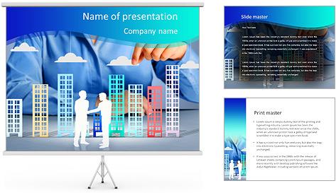 Строительство шаблоны презентаций и