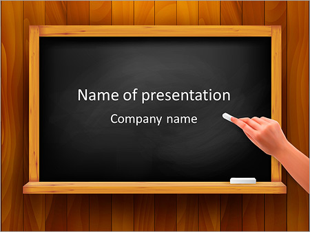 Handwriting PowerPoint Template