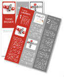 Know how crossword concept Newsletter Template