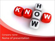 Know how crossword concept PowerPoint Templates