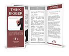 Business man hand checking the to do list. Brochure Templates