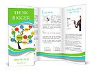 Website development tree Brochure Templates