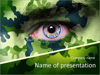 Secret Military Operation PowerPoint Template