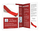 The success ladder. 3d illustration Brochure Templates