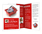 World commerce, checkout icon (3d render) Brochure Templates