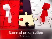 Conception est une affaire de connexions, le travail d'équipe et la coopération. 3d illustration Modèles des présentations  PowerPoint