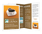 A concept of cup for coffee lovers Brochure Templates