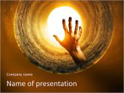 Horror powerpoint template smiletemplates tunnel horror zombified hand rising up inside a dark tunnel powerpoint templates toneelgroepblik Choice Image