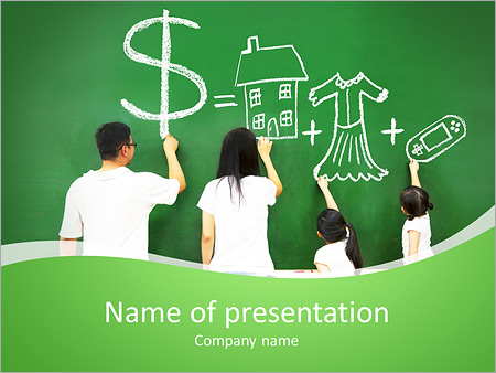 chalkboard powerpoint template smiletemplates com