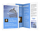 Freedom concept. Escaping from the cage Brochure Templates