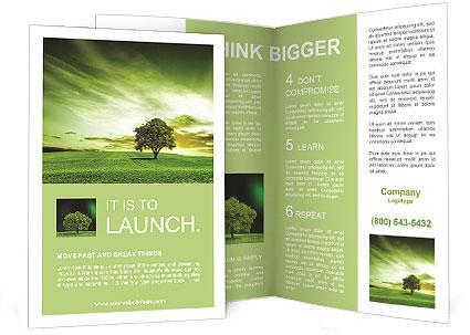 Green landscape brochure template design id 0000009265 green landscape brochure template saigontimesfo