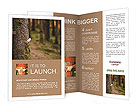 Hugging a tree Brochure Templates