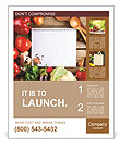 Fresh Organic Vegetables and Spices on a Wooden Background and Paper for Notes. Open Notebook and Fr Poster Template