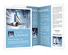 Business graph Brochure Templates