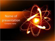 Atom PowerPoint šablony