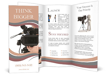 Video Brochure Template Video Brochure Template Indesign Amazing