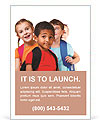 Kids ready back to school Ad Templates