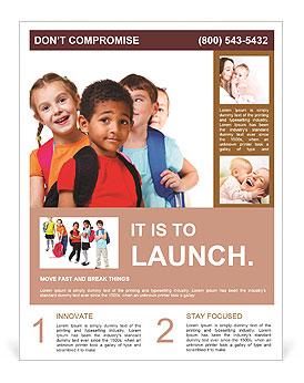 Kids ready back to school flyer template design id 0000009336 kids ready back to school flyer template maxwellsz