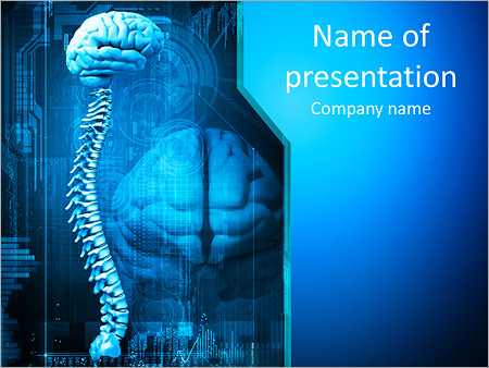 Spine x ray powerpoint template backgrounds id 0000009358 spine x ray powerpoint templates toneelgroepblik Choice Image