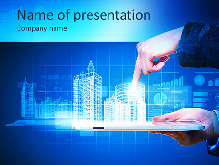 Automation Powerpoint Template Smiletemplates Com