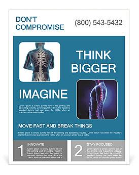 human back flyer template
