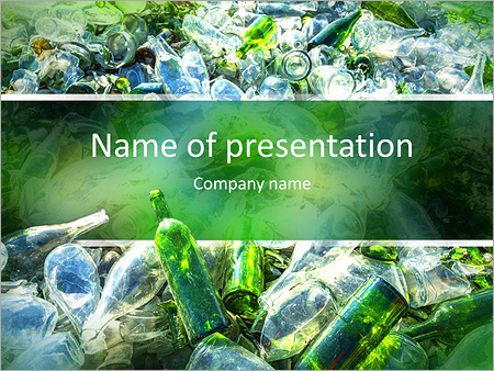 Recycle powerpoint template smiletemplates recovery of waste powerpoint templates toneelgroepblik Image collections